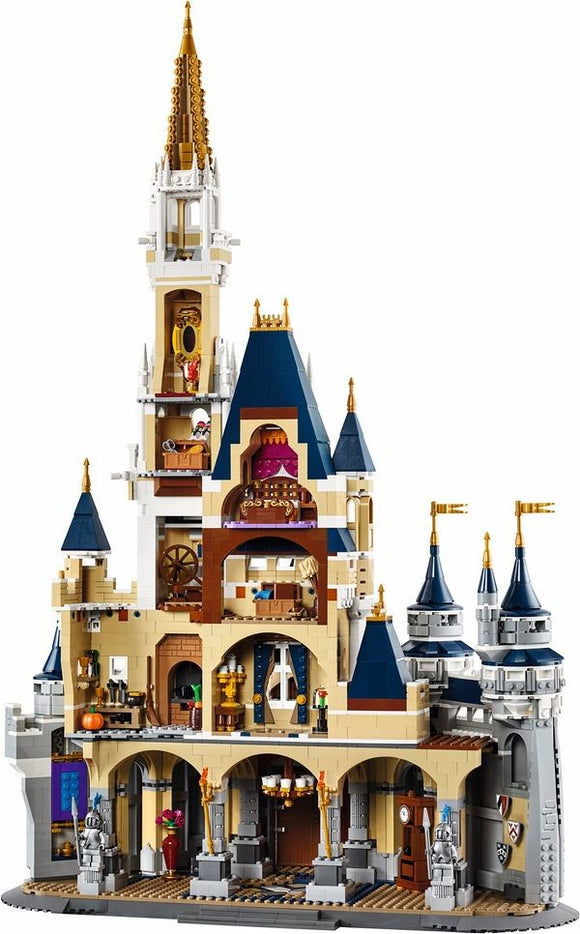 cinderella princess Lego blocks castle