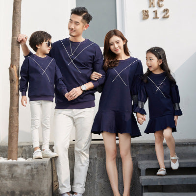 Star Stitched Love Family Matching Sweaters & Sweater Dresses