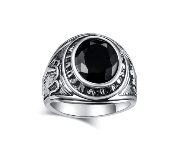 Wise Black Ring