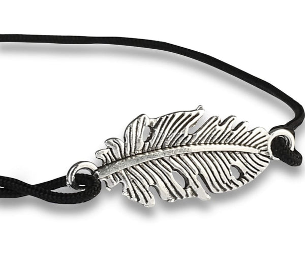 Casual Rebel Silver Feather