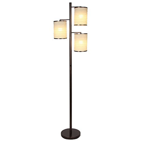Brightech Liam Lantern Standing Contemporary