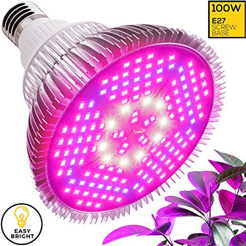 100W LED Grow Light Bulb