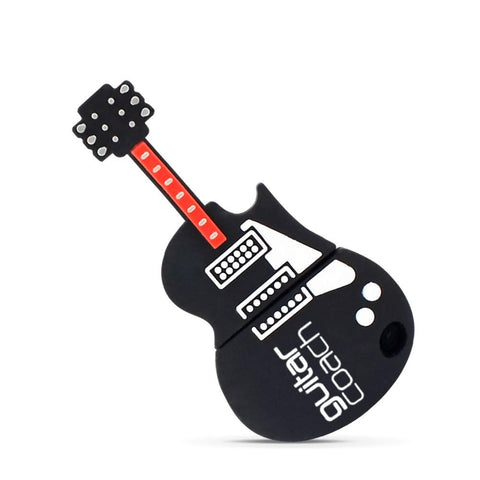 USB 2.0 Flash Drive Gifts for Guitar Player,8G Memory Stick for Music Student