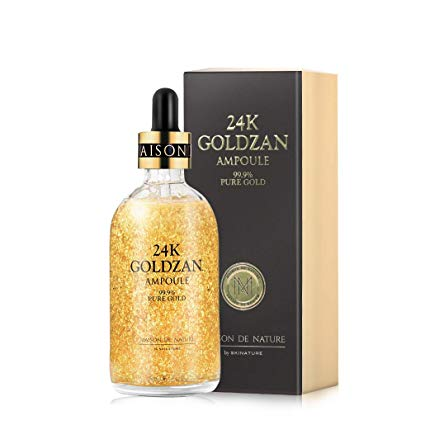 24k GOLDZAN AMPOULE 99.9% Pure Gold Serum