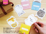 Japan Stationery : Oshiri Writing Card - Hamster
