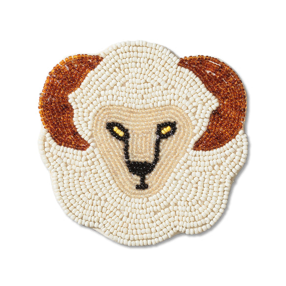 ACT Sheep Beads Coaster
