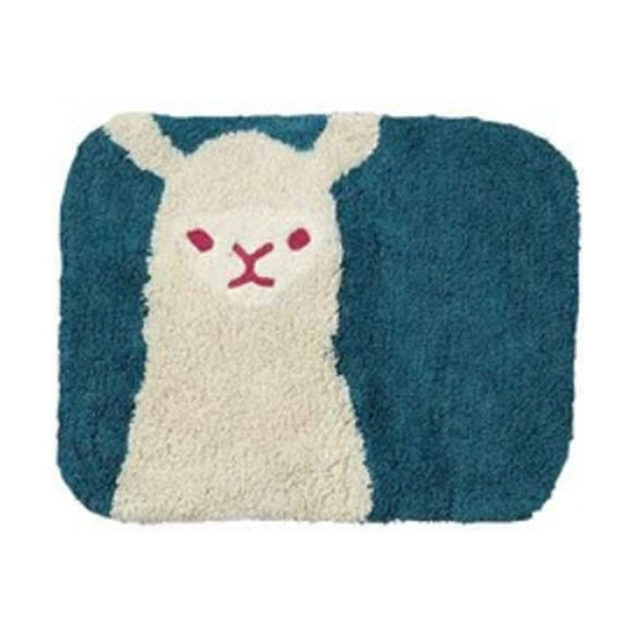 ALPACA Rabbit Floor Mat (Navy)