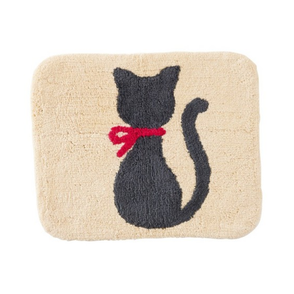 CHARM Cat Floor Mat (Ivory)