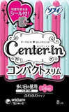 Center-in Sanitary Napkins Compact Fluffy Heavy Day 24 cm