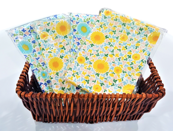A Basket of 4 Square Cushion Covers