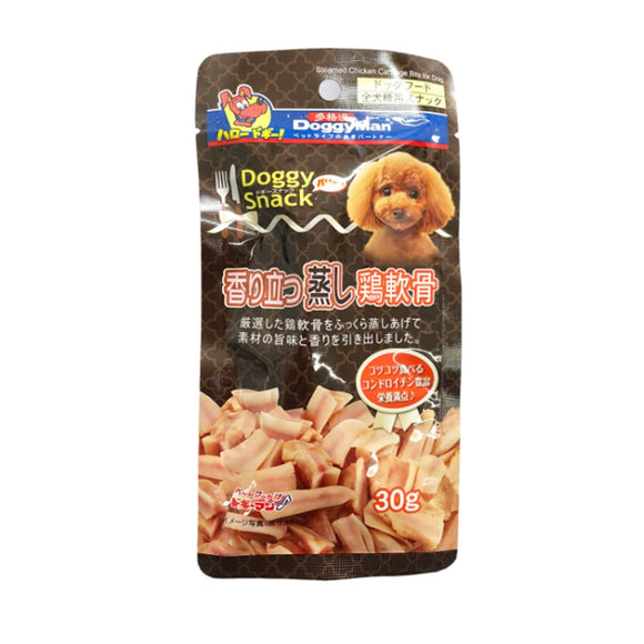 DoggyMan Steamed Chicken Cartilage Bits (30g)