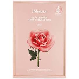 Glow Luminous Flower Firming Mask (Rose) - 10 Sheets Per Box