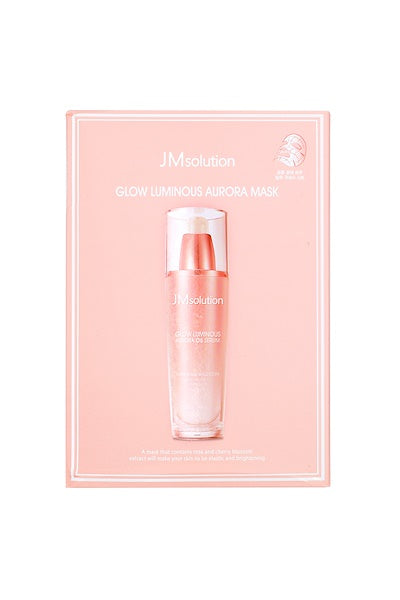 JM Solution Glow Luminous Aurora Masks - 10 Sheets Per Box