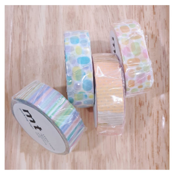 KAMOI A Set of 4 Washi Tapes