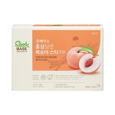 Korean Red Ginseng with Peach (wholesale $55.90/ Box)