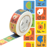 MT for Kids Washi Paper Masking Tape Set