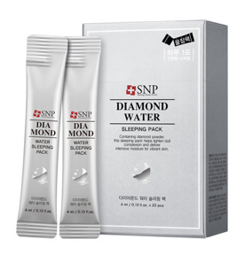 SNP Diamond Water Sleeping Pack  - 4 ml x 20 pieces