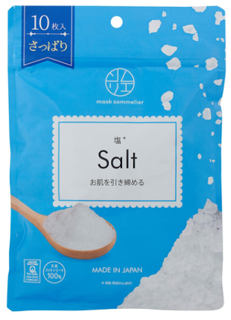 Mask Sommelier Salt - 10 Sheets