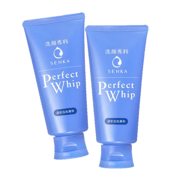 2 x Senka Perfect Whip Facial Cleanser 120g