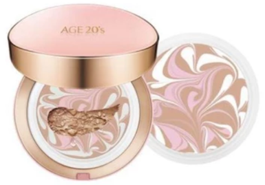 AGE20's Signature Essence Cover Pact - Moisture 21 (Dry skin, Brightening)