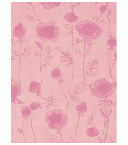 Japanese Wrapping Paper – Rose