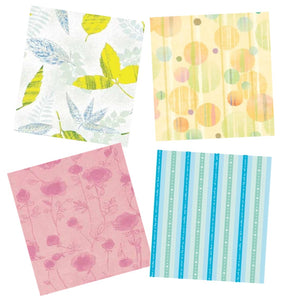 8 Pieces (4 Design) of Japanese Wrapping Papers