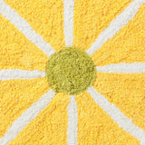 FIORE Yellow Flower Floor Mat