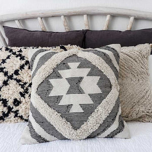 Boho Cushion Cover with Stripes - Seeyacollection
