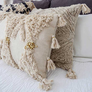 Boho Cushion Cover Luxe with Tassels 60x40 - Seeyacollection