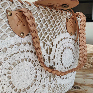 Straw Macrame Luxury Bag - Seeyacollection
