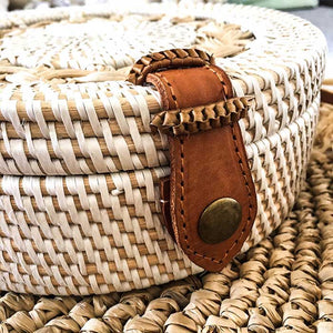 Round Rattan Bag - Seeyacollection