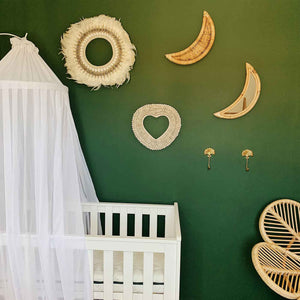 Rattan Moon Mirror - Seeyacollection