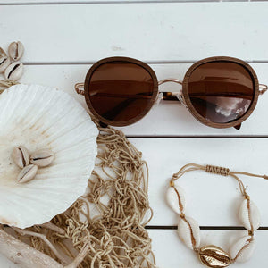 Polarized Bamboo Women Sunglasses Seeya