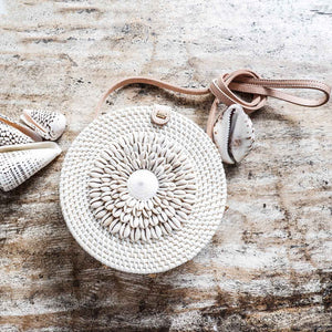Shell Rattan Bag - Seeyacollection