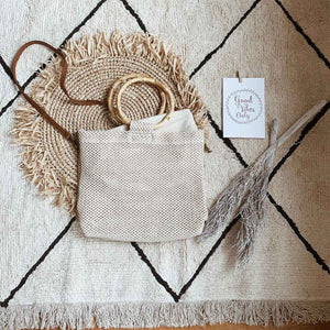 Boho Straw Bag Luna - Seeyacollection