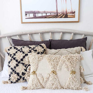 Boho Cushion Luxe with Tassels 60x40 - Seeyacollection