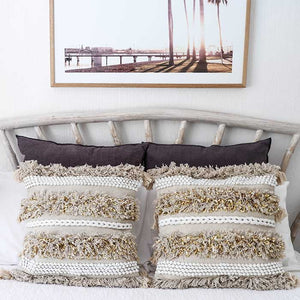 Tassel Cushion Cover Glitter Luxe 50x50 - Seeyacollection