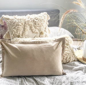 Linen Light Brown cushion cover 50x30 - Seeyacollection
