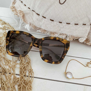Polarized Brown Leopard Women Sunglasses Diva - Seeyacollection
