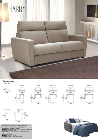 Harry 2 Seater S/bed from £1039