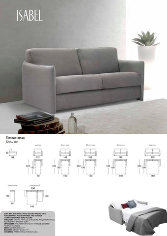 Isabel 2 Seater S/bed from £999+ vat