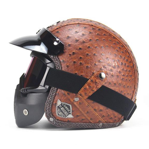Scorpion Helmet Personality Brown