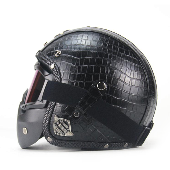 Scorpion Helmet Plaid Black