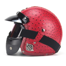 Scorpion Helmet - Personality Red
