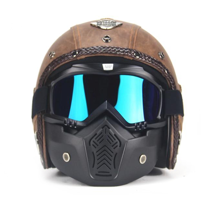 Scorpion Helmet - Old Brown