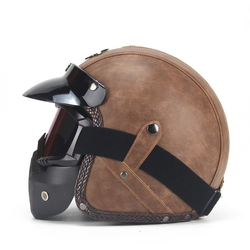 Scorpion Helmet Old Brown