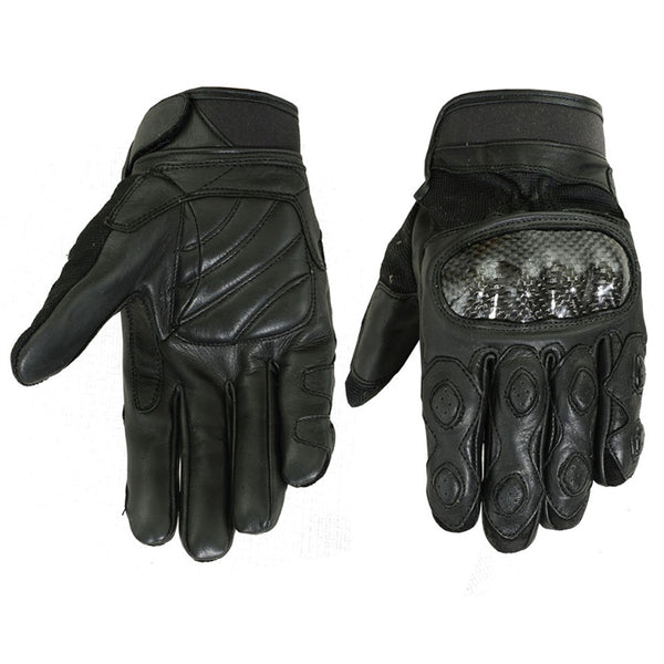 Leather/Textile Sporty Glove