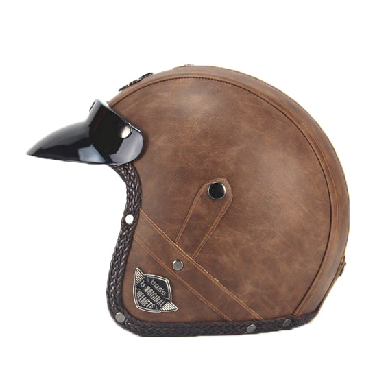 XC Scorpion Helmet Old Brown
