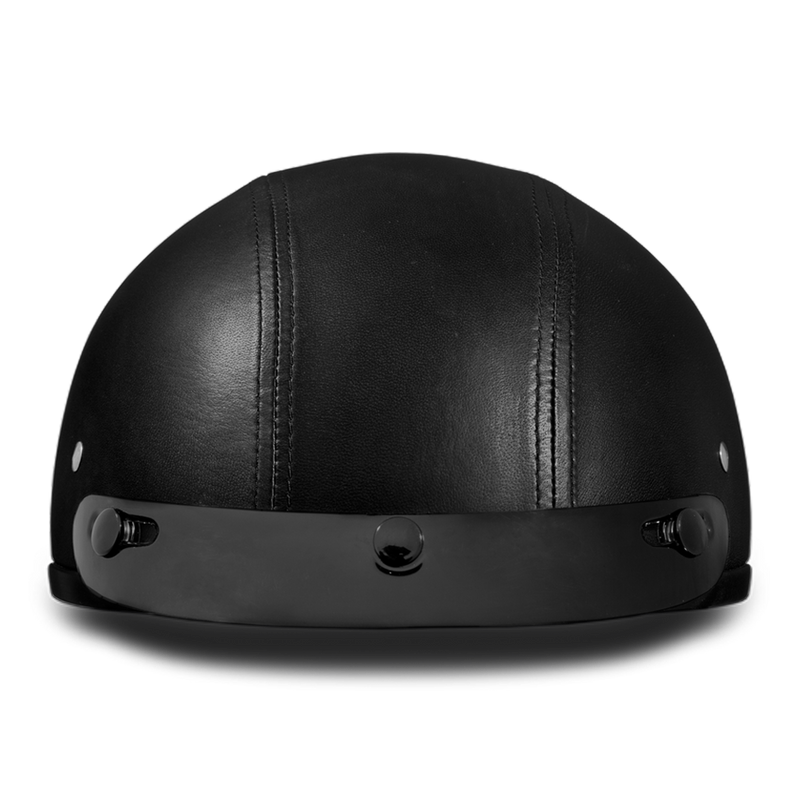 Skull Cap - Leather Covered
