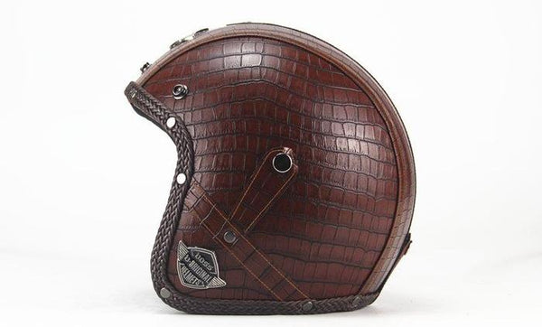 XC Scorpion Helmet Plaid Brown